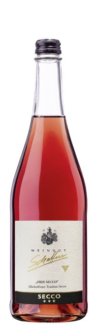 "Freesecco ""alkoholfree secco from red grapes"